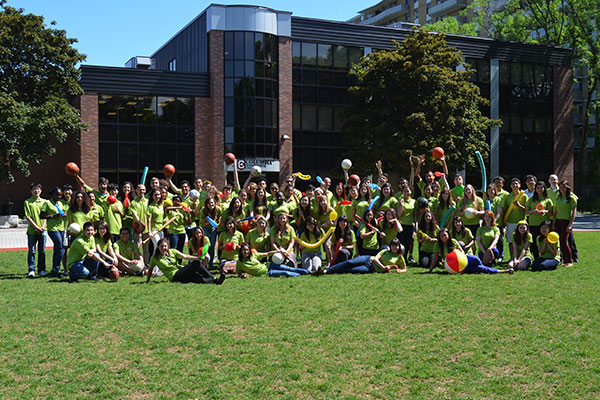 Columbia's camp counsellors, the Green Team