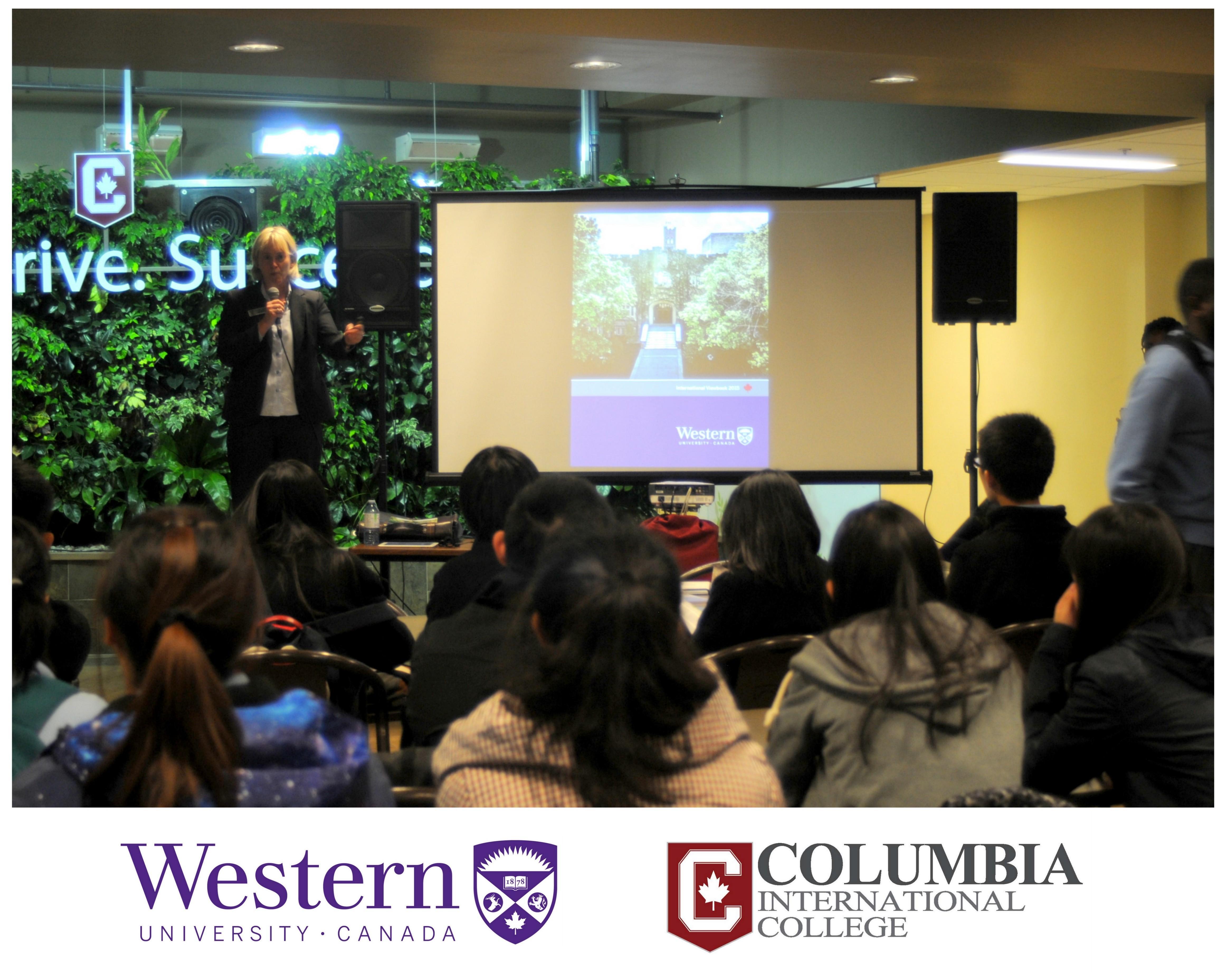 Columbia Welcomes Western U Columbia International College