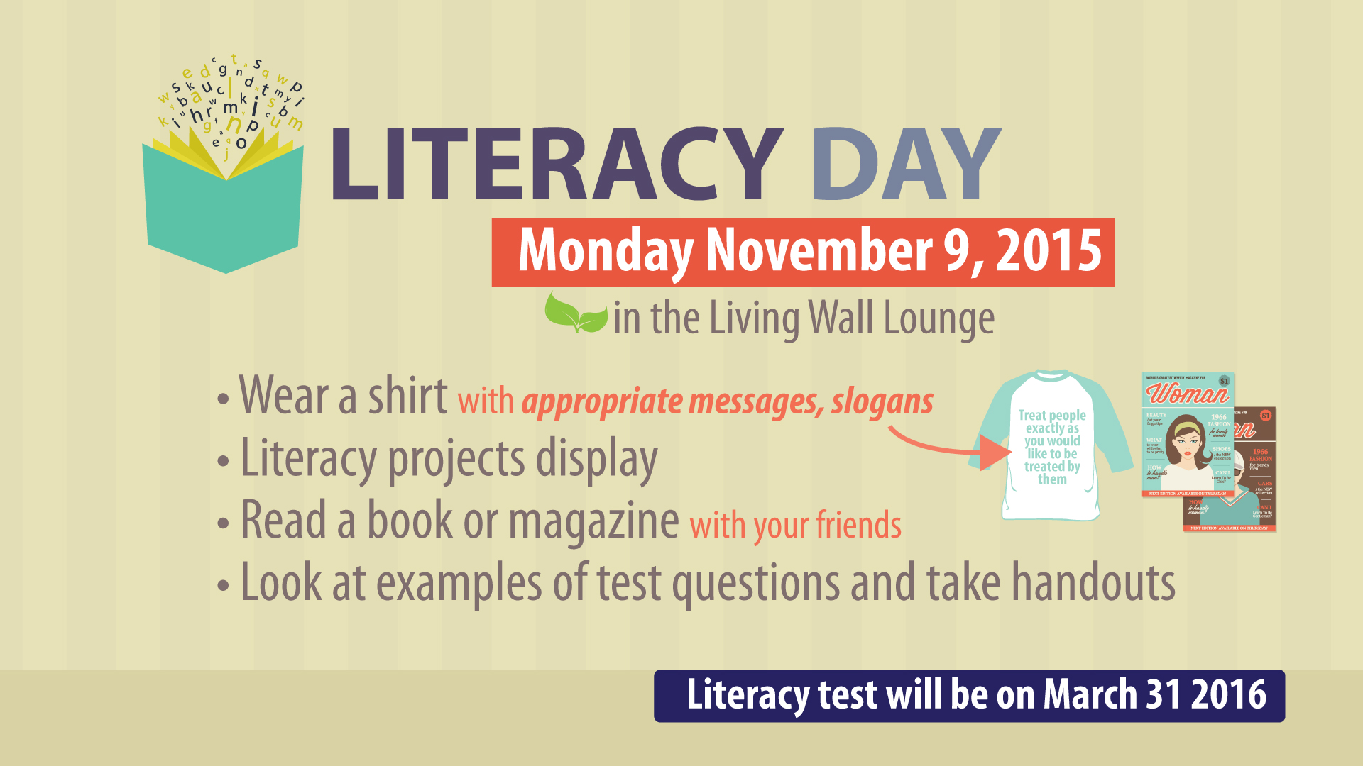 world literacy day essay An essay on world computer literacy day for children, kids and students given here english, hindi, tamil, telugu, bengali, marathi, malayalam, assamese and more.