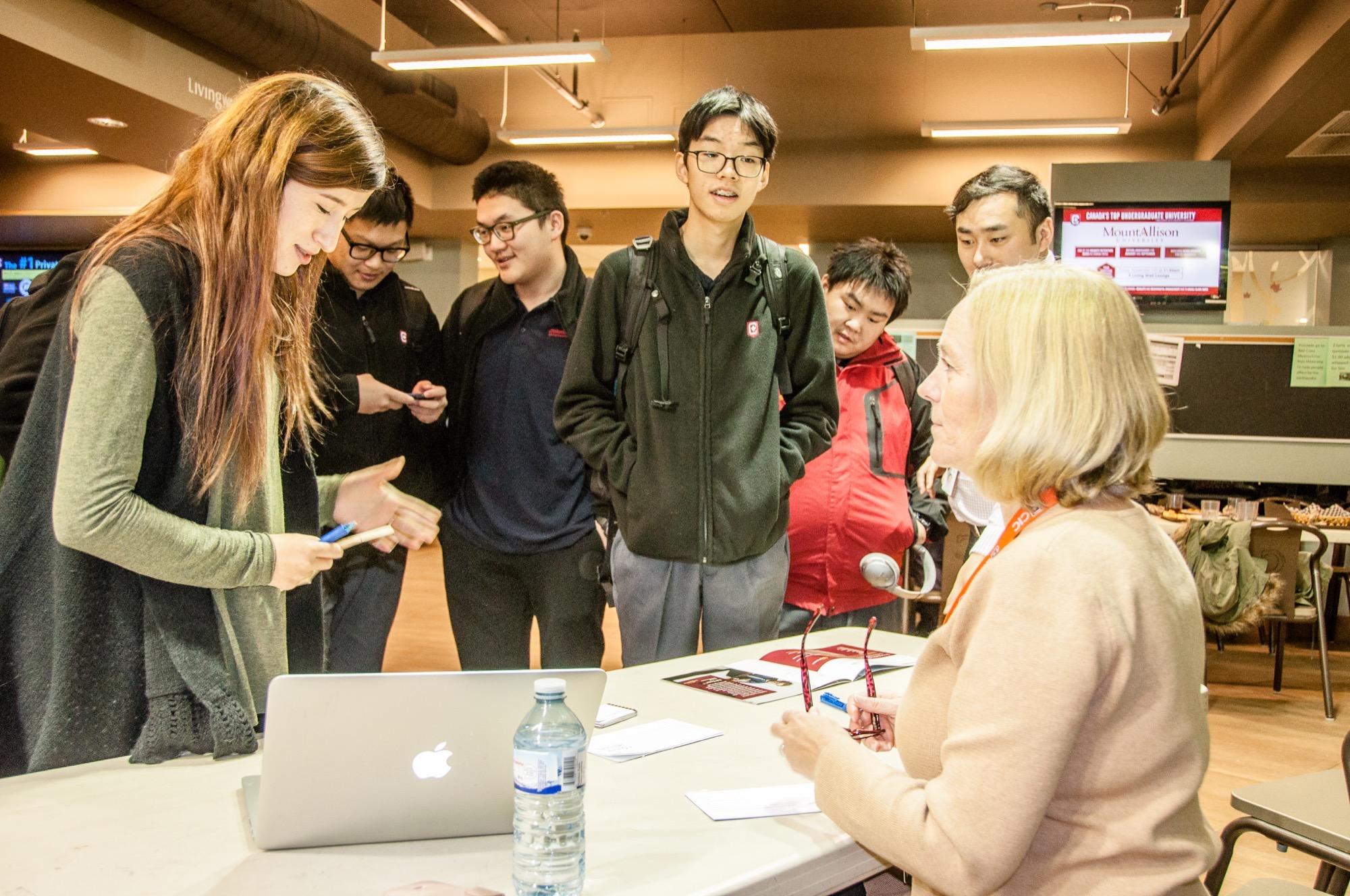 Mount Allison University Visits CIC
